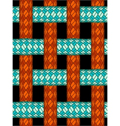 ropes texture vector image vector image