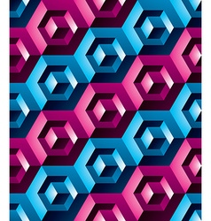 Colorful abstract textured geometric seamless vector