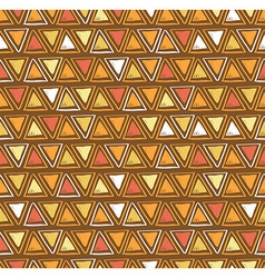 Tribal triangle seamless pattern geometric vector
