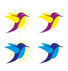 bird2 vector image