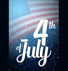 Independence day poster template vector
