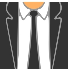 Symbol Business Suit vector image vector image