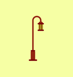 Street light icon street lamp vector