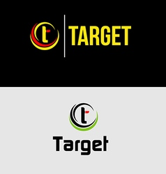 Abstract target logo 2 vector