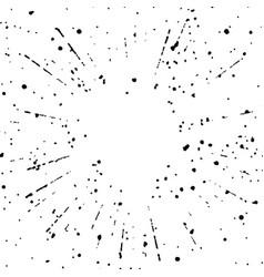 Easy to use overlay halftone sunburst explosion vector