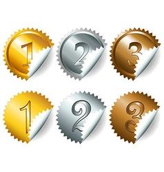 Games medals or labels-set3 vector