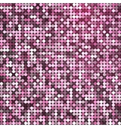 Glamorous abstract retro vintage pixel vector