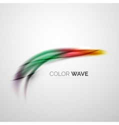 Color wave element vector
