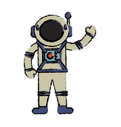 Astronaut suit spaceman image vector