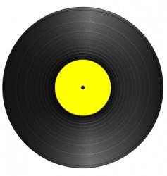 vintage vinyl vector image vector image