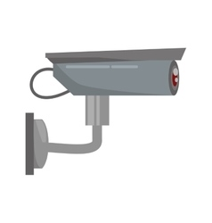 Security camera privacy protection sign vector