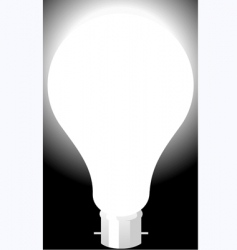 a bulb vector image vector image