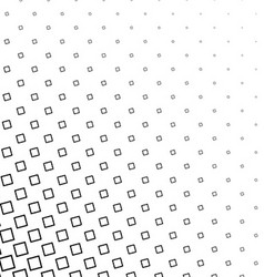 Black and white angular square pattern background vector
