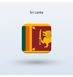 Sri lanka flag icon vector