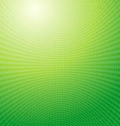 Design pattern green waves grid abstract light vector