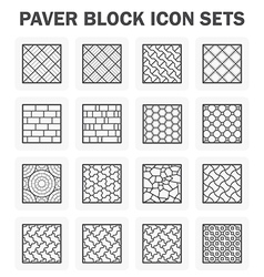 Paver block vector