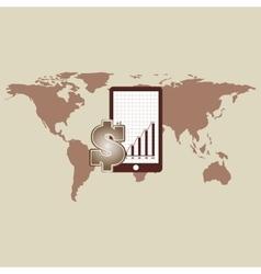 Business world money economy vector