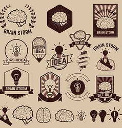 get idea brainstorm vector image