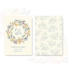 greeting cards template vector image