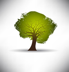 Rough Texture Tree vector image