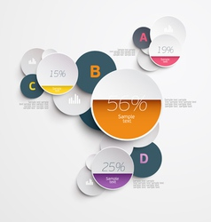 Elements of infographics vector