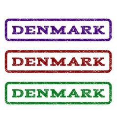 Denmark watermark stamp vector