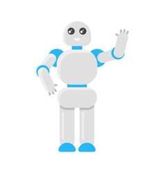 flat style of Japanese robot vector image vector image