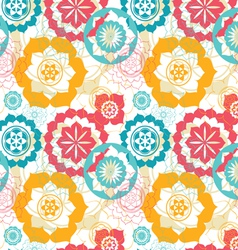 flower of life seamless pattern vector image vector image
