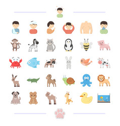 Medicine prevention ecology and other web icon vector