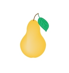Sign pear 2708 vector image vector image