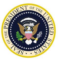 Presedent seal vector