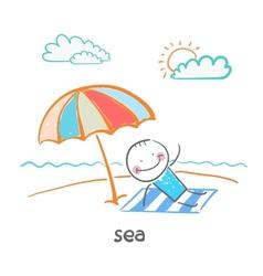 sea vector image