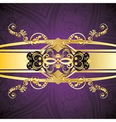Purple decorative background4 vector