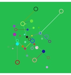Social Network Graphic Concept Abstract vector image vector image