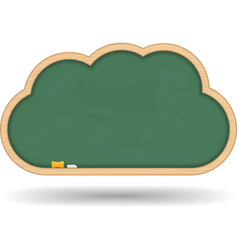 Blackboard Cloud vector image