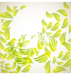 Abstract background wing vector