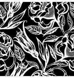 Flower rose seamless 3 vector