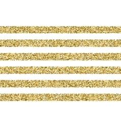 Gift glitter striped pattern vector image