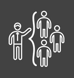 networking skills vector image vector image