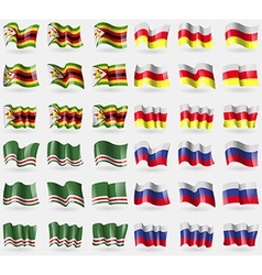 Zimbabwe north ossetia chechen republic of vector