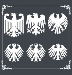 Heraldric eagle 2 vector