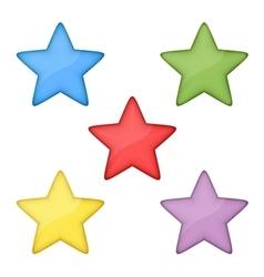 Volume stars vector image