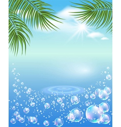 Tropical magic vector