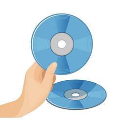 Dvd digital video disc or versatile optical discs vector
