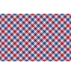Red blue white diagonal check texture seamless vector