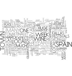 A guide to spain s quirkier festivals text word vector