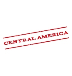 Central America Watermark Stamp vector image