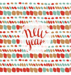 New year fashion pattern seamless xmas background vector