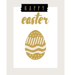 Easter card festive background element vector