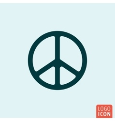 Peace symbol icon vector